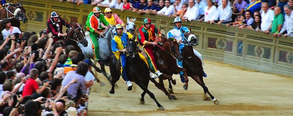Palio Horse Race, Siena