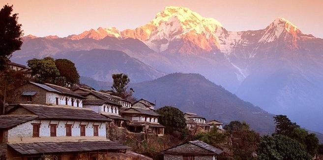 ghandrung, nepal